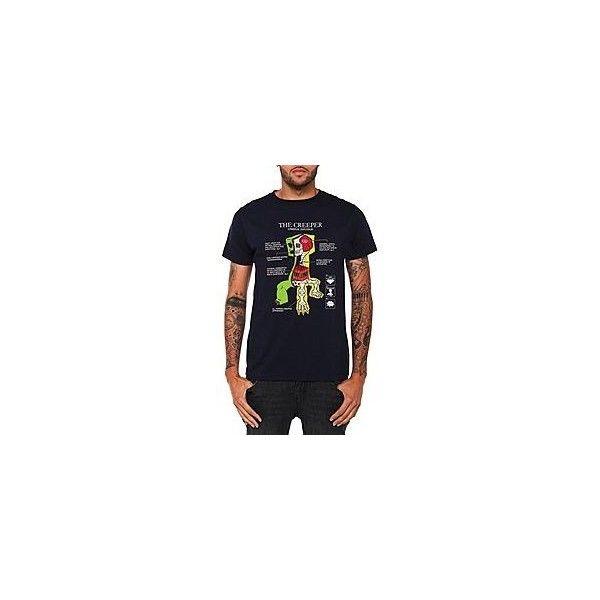 Jinx Minecraft Creeper Anatomy T Shirt Hot Topic Liked On