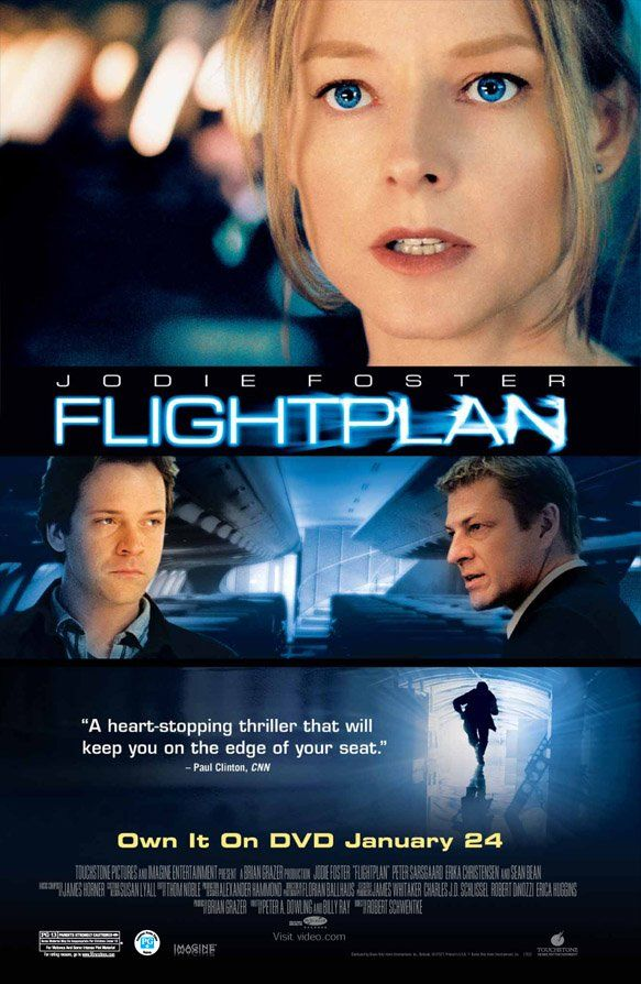 Flightplan Watched With Clearplay A Delightfully Creepy Plot With A Great Setting And Strong Performances But A Bit Too Predictable And Not Clever Enough