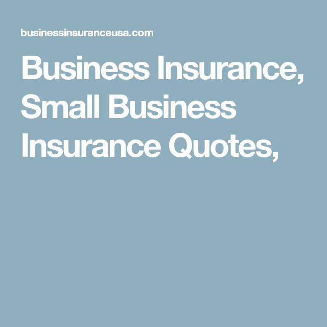 Small Business Insurance Quote Business Insurance Small Business Insurance Quotes  Biz Research .