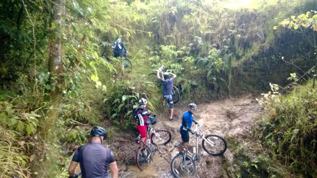 Extreme MTB ride