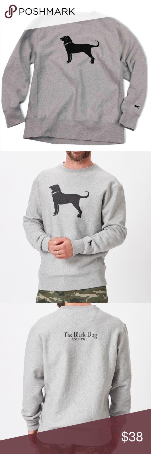 Black Dog Classic Heavyweight Crewneck Sweatshirt Sweatshirts Crew Neck Sweatshirt Black Dog [ 1740 x 580 Pixel ]
