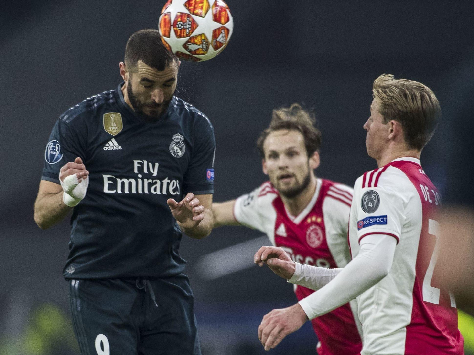 Real MadridAjax Amsterdam sur quelle chaîne voir le