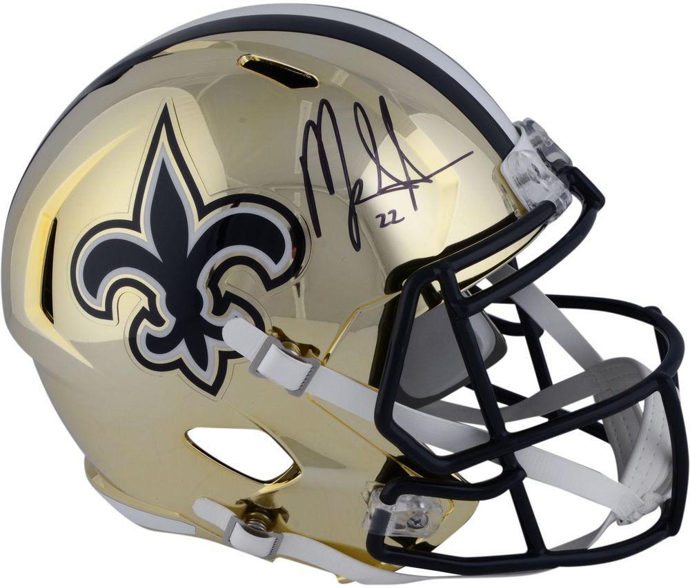fc4f794d3 Autographed Mark Ingram Saints Helmet Fanatics Authentic COA Item 9019965