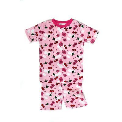 cherry blossom shorty jammies