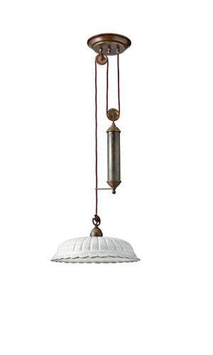 Il Fanale Anita Pulley Pendant 061 12 Oc Touchgoods Southold Ny Modern Glass Pendant Light Pulley Pendant Light Pulley Light Fixture