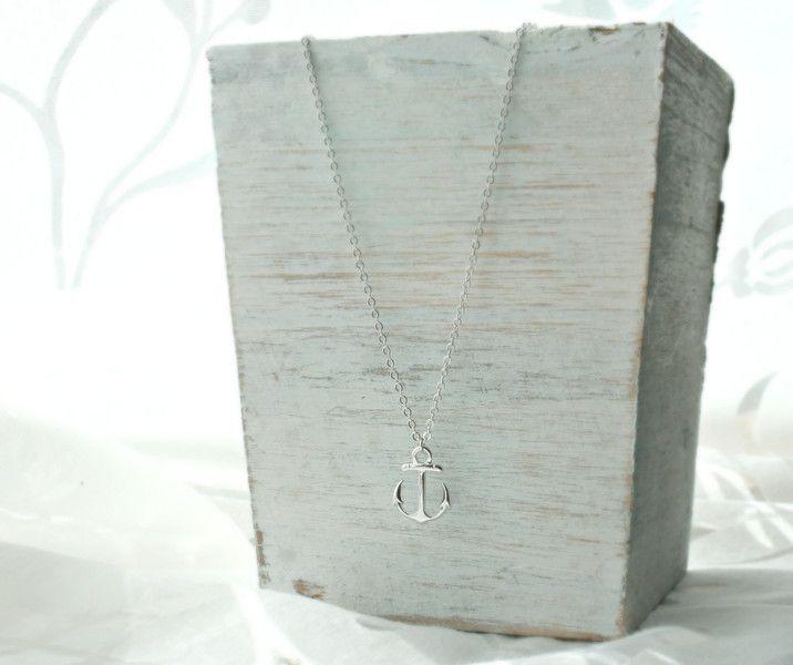 *anker* versilberte Halskette von Mint Design auf DaWanda.com