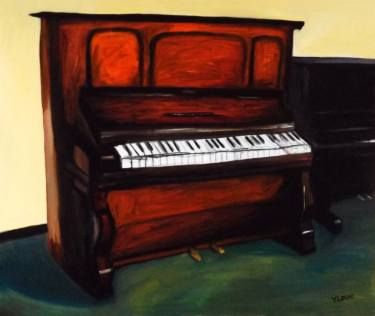 "Saatchi Art Artist luo yung; Painting, ""piano"" #art"