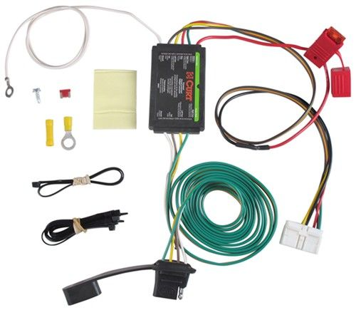 Curt T Connector Vehicle Wiring Harness With 4 Pole Flat Trailer Connector Curt Custom Fit Vehicle W Honda Odyssey 2015 2007 Honda Odyssey Honda Odyssey