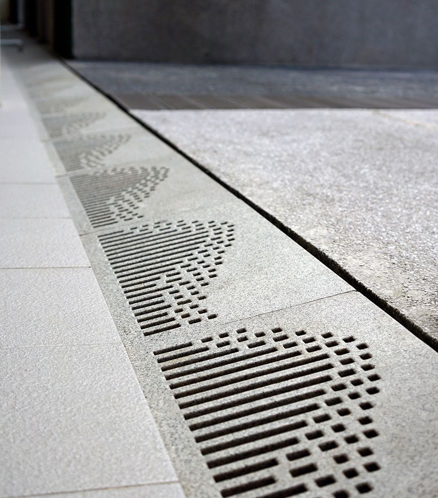 Singapore Polytechnic Trench Grates Sustainable Architecture Design Architecture Design Design Minimal