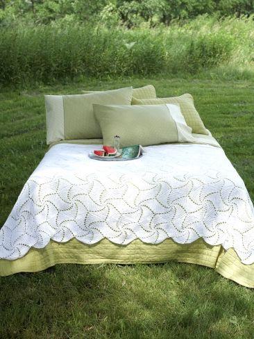 Spinning Wheels Crochet Bedspread Free Pattern Crochet Blankets
