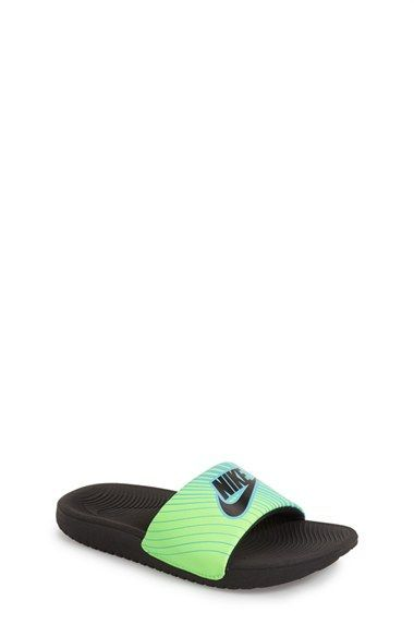 Nike 'Kawa' Slide Sandal (Toddler, Little Kid & Big Kid) | Nordstrom