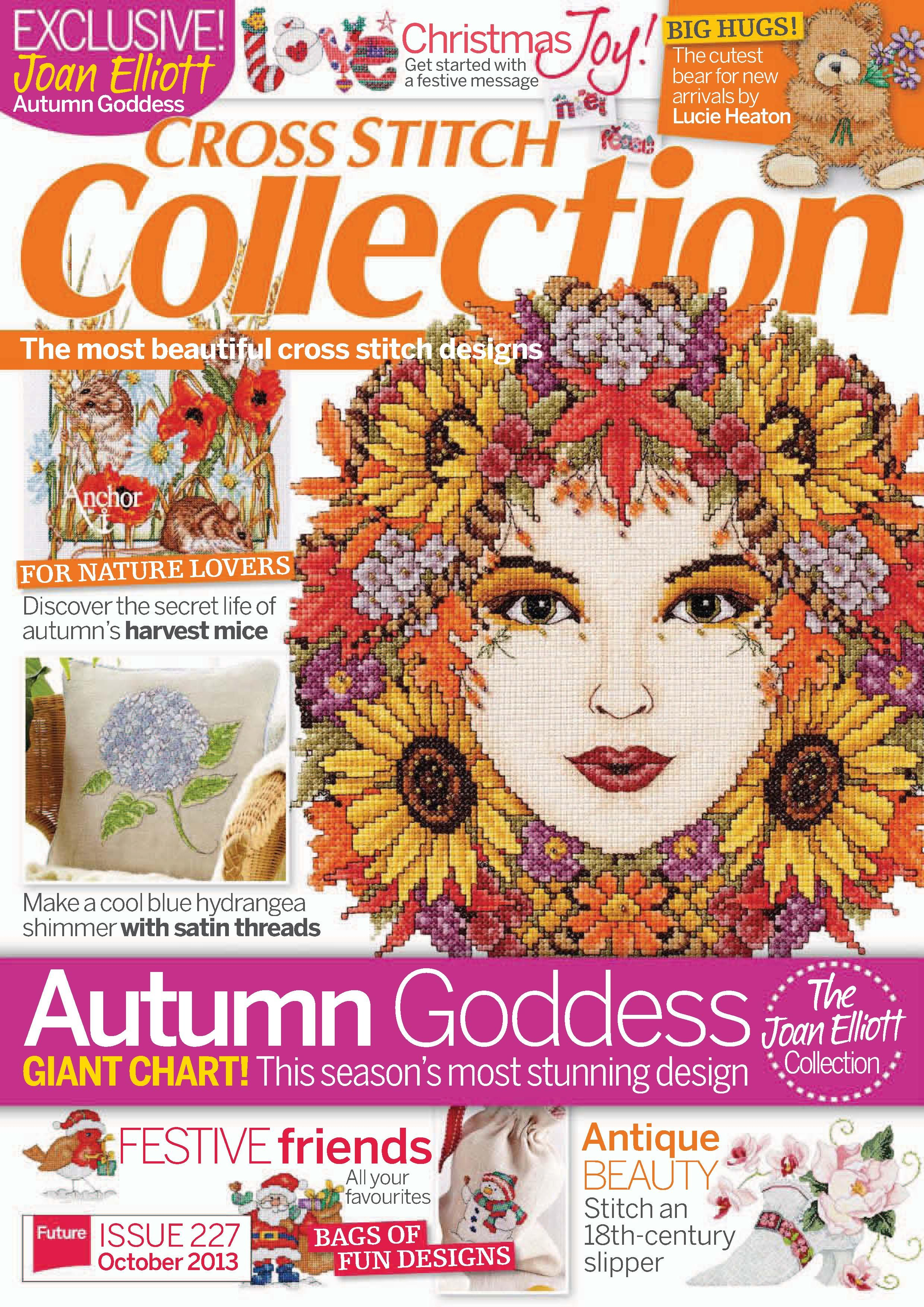 Magazines Collection Fashion Nails 4 Et 5: Cross Stitch Collection Issue 227 Patterns Pinned