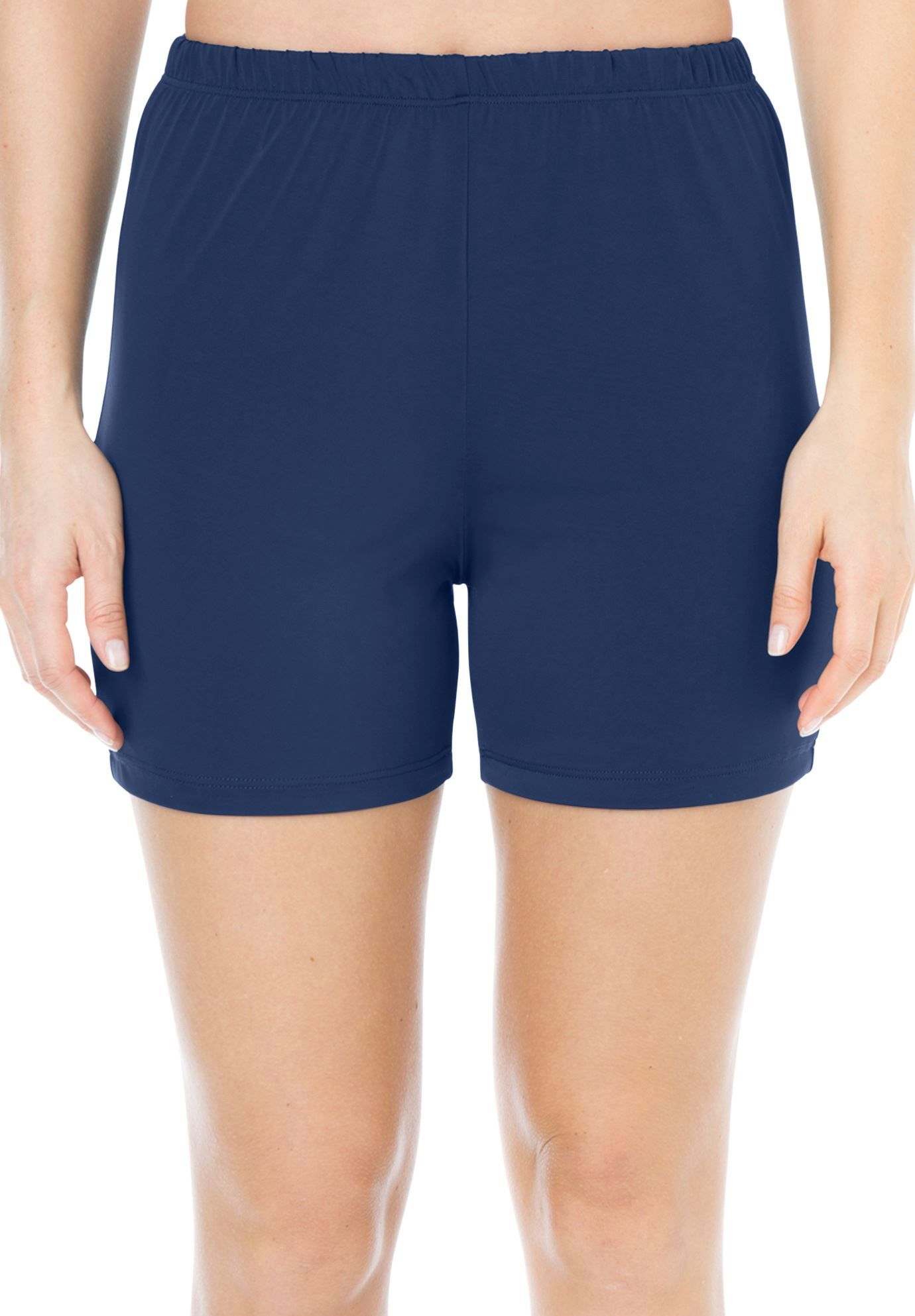 595861f415763 Swimsuit, bike shorts bottoms by Swim 365® | Plus Size Hip & Thigh Trimmers