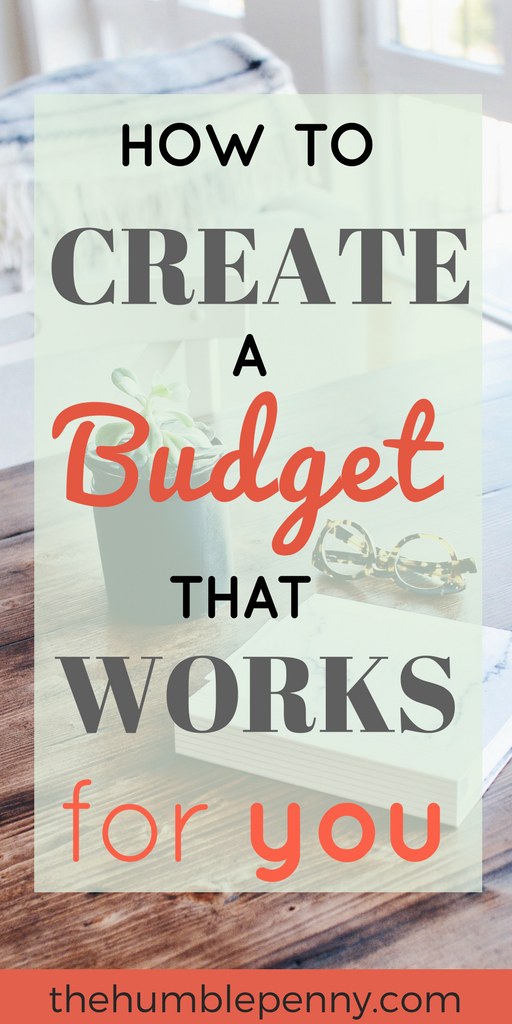 how to create a budget that works for you money tips pinterest