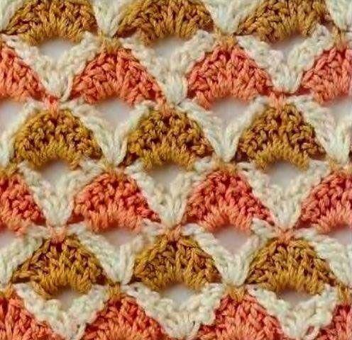 crochet stitches - Buscar con Google