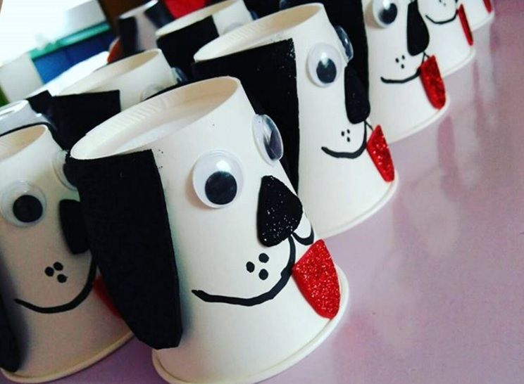 dog craft ideas for kids paper cup craft d 225 rky craft crafty 6472