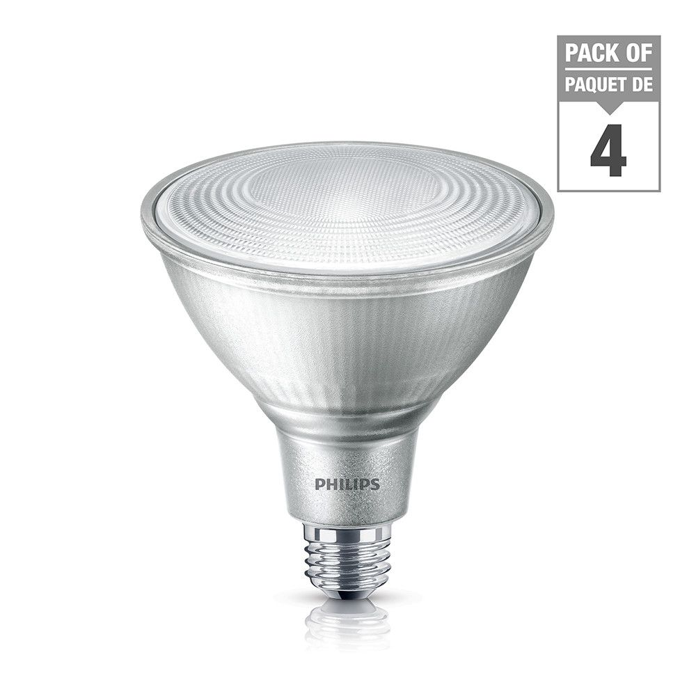 Led 120w Par38 Glass Daylight 5000k Case Of 4 Bulbs Energy Stara Led Light Bulb Glass Bulb