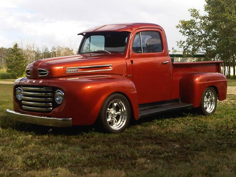Old timey truck!!! 1948 Ford F-1 | Project car ideas for me and ...