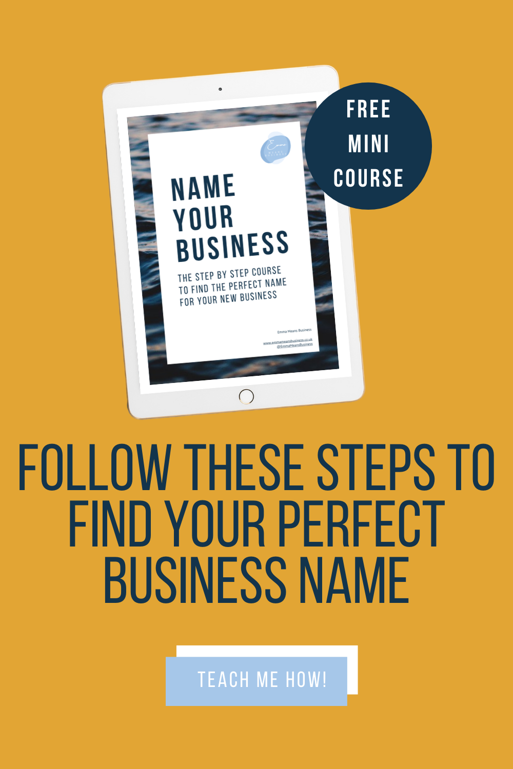 A FREE step by step guide to find the perfect name for your new business #entrepreneurtips #businesstips #newbusiness