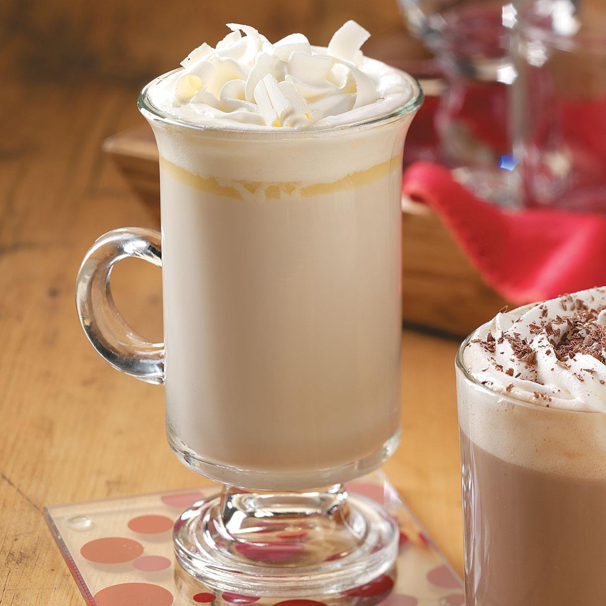 White Chocolate Brandy Alexander Recipe In 2019 Holidays