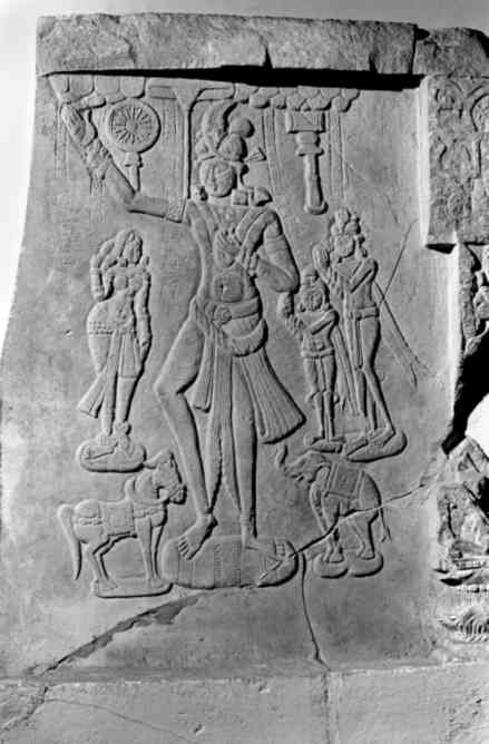 Mandhata (cakravartin)-Ie BC- Jaggayyapeta-Musée de Madras