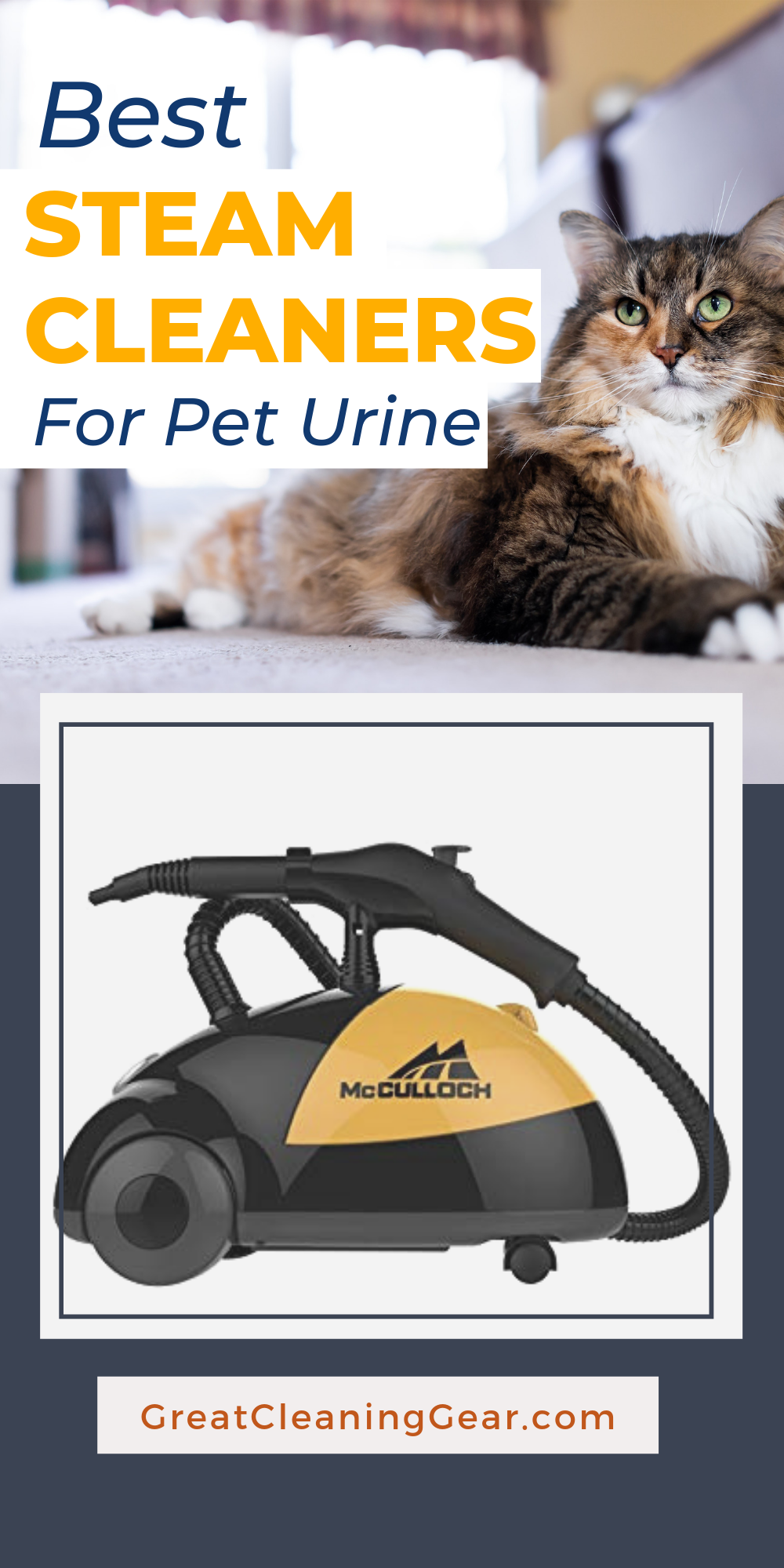 Best Steam Cleaners For Pet Urine Best Steam Cleaner For