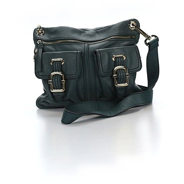 Pre-owned Etienne Aigner Leather Crossbody Bag: Teal Women's Bags (€115) ❤ liked on Polyvore featuring bags, handbags, shoulder bags, teal, leather purse, shoulder handbags, handbags crossbody, crossbody handbags and handbags shoulder bags