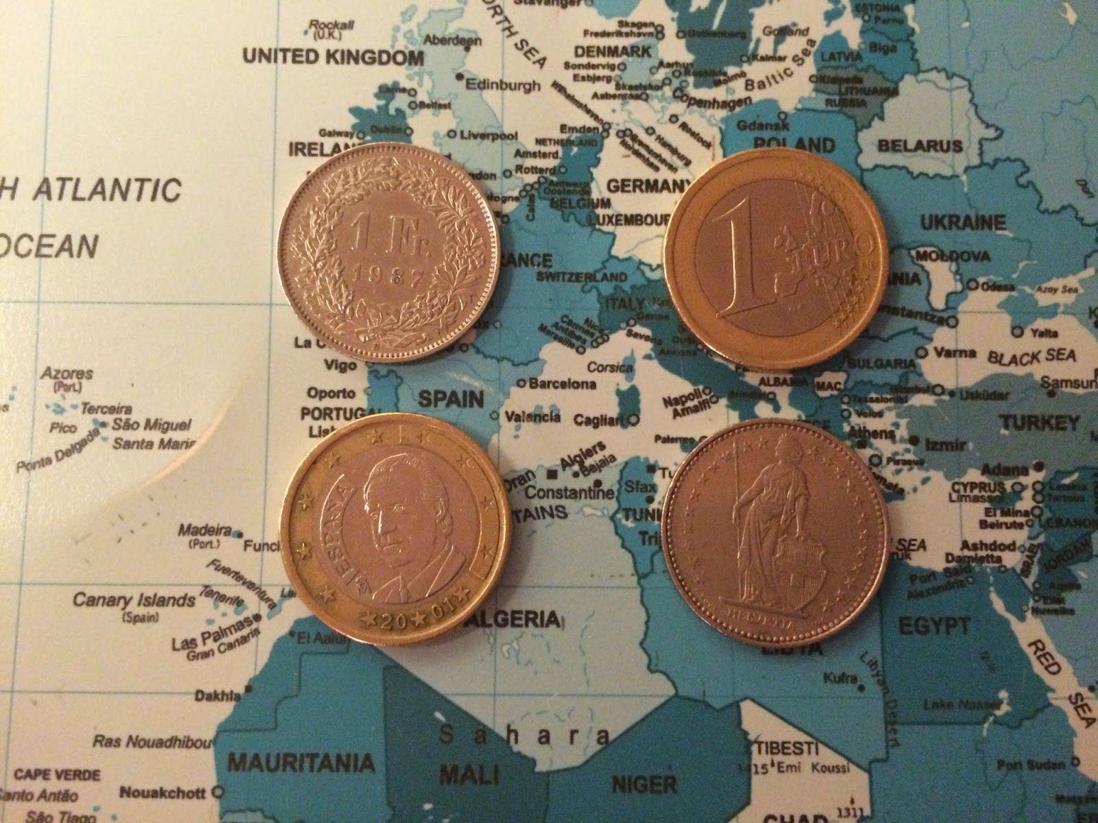 Sveitsin frangi on yhtä kuin euro!