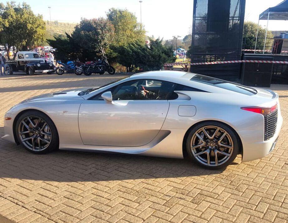 Sexy Silver Lexus LFA Spotted At Nasrec By Ingo Behrendt #Zero2Turbo  #ExoticSpotSA #Lexus