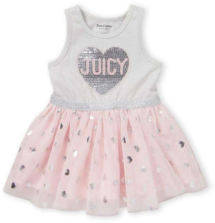 Toddler Girls Sequin Heart Tutu Dress Hearts Tutu Tutu Dress Toddler Girl