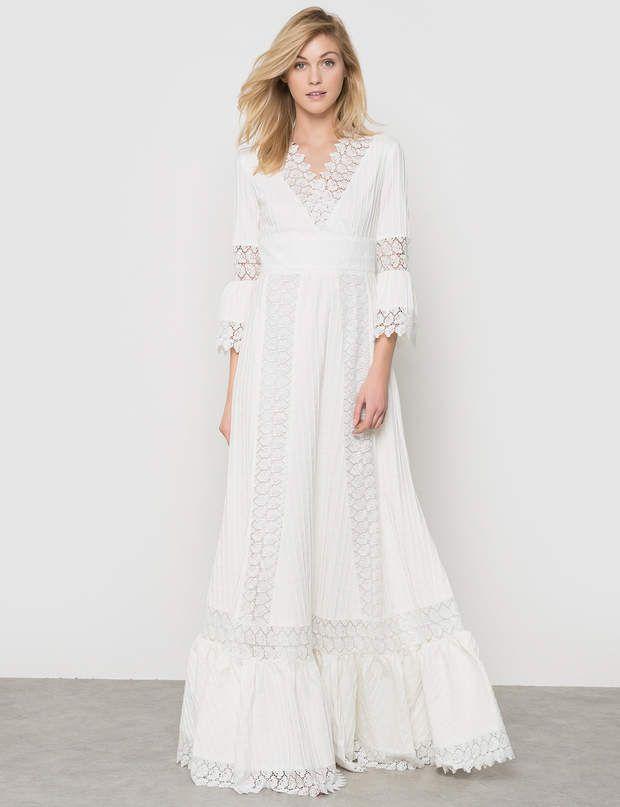 La redoute robe blanche femme