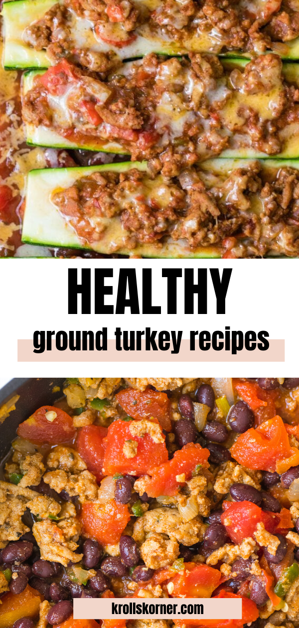 10+ Healthy Ground Turkey Recipes