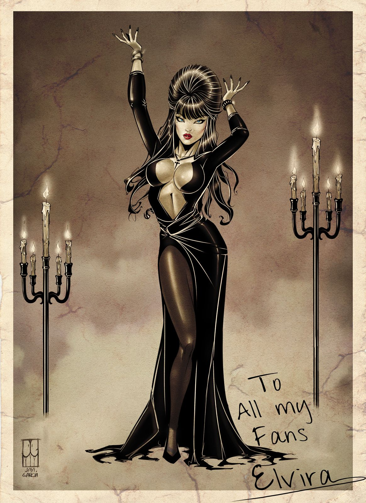 Elvira by JaviGarcia on DeviantArt