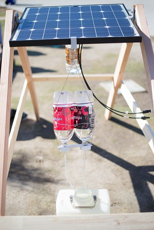 Eden Full is the inventor of The SunSaluter, a solar panel that pivots to face the sun without requiring a motor. Her ingenuity and a tip from someone at an international science fair led her to optimize solar energy, so a solar panel produces up to 40% more electricity. And all it takes is gravity and some soda bottles.