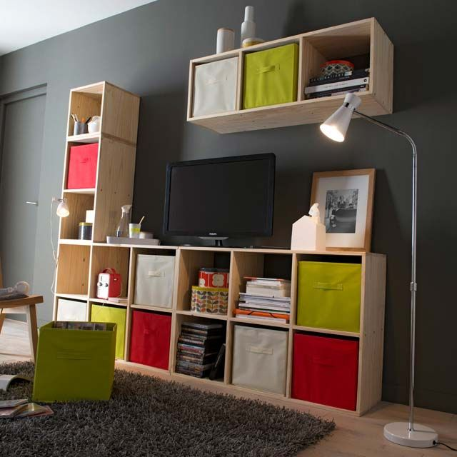 38 Idees D Etagere Et Bibliotheque Modulable Etageres Modulables Rangement Modulable Bibliotheque Modulable
