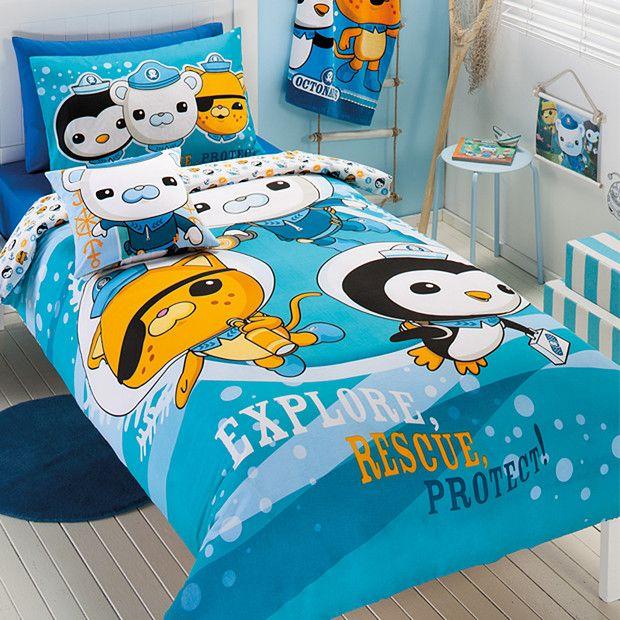 Octonauts Quilt Cover Set Boy Bedroom Ideas Quilt