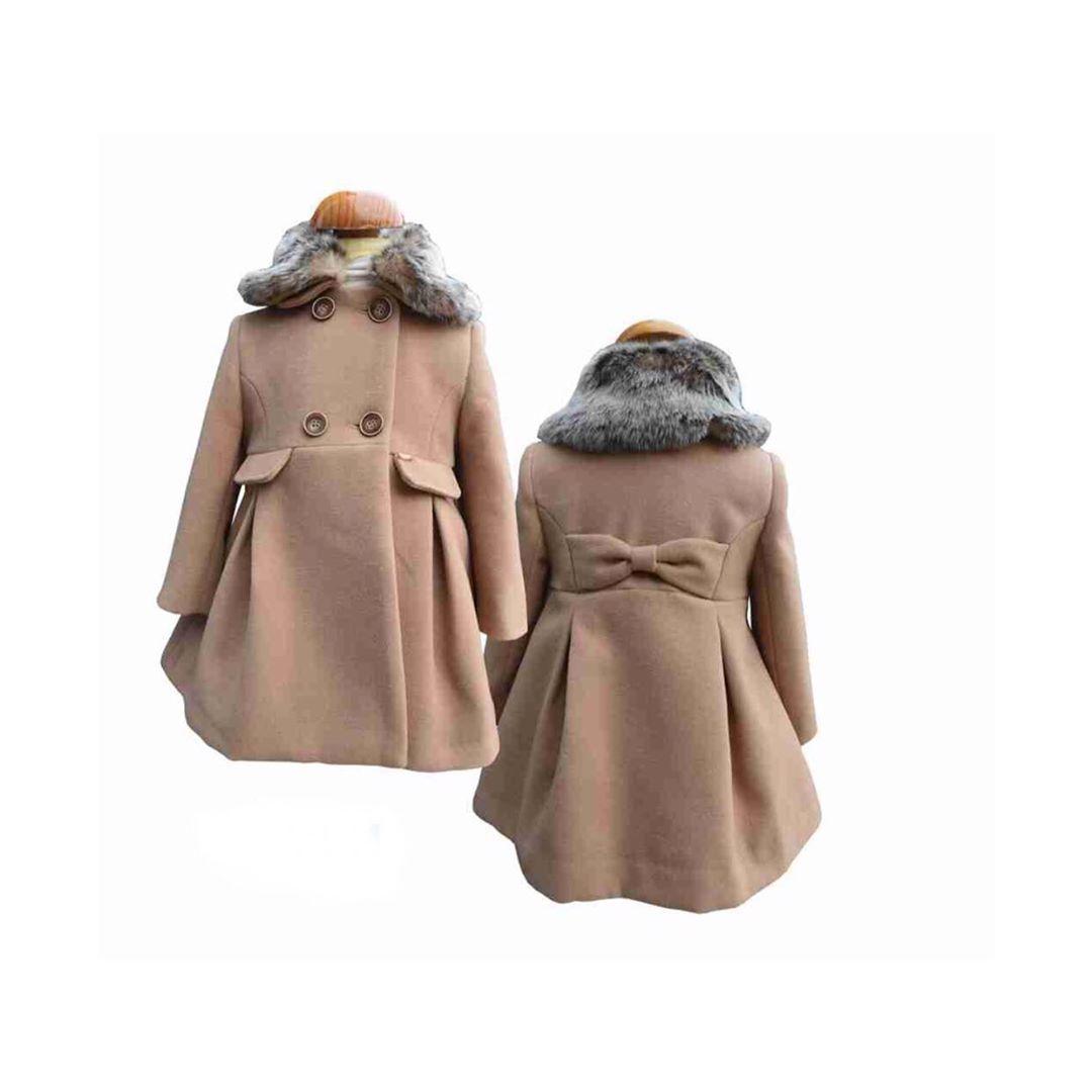 Locotren On Instagram Abrigo De Niña Firma Bbz Con Cuello De Pelo Desmontable Y En Diferentes Colores Vestidos Bebe Niñas Fur Coat Coat Fashion