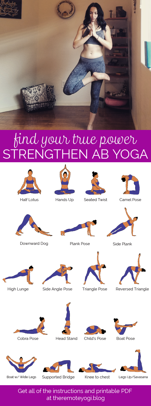 Yoga Flow for a Powerful Core