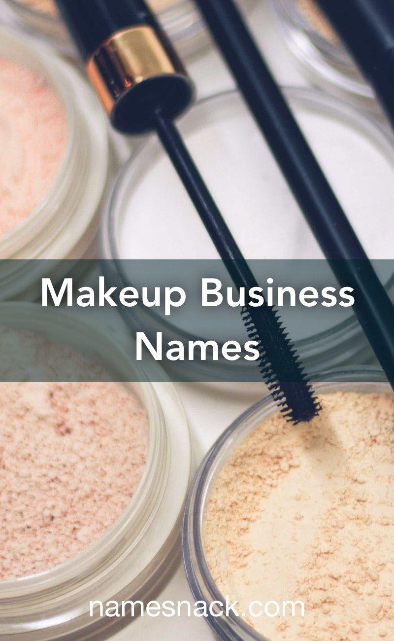Makeup Business Names Makeup Business Names Makeup Names Makeup