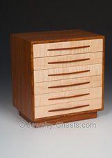 Jewelry Boxes A Custom Handmade Wood Jewelry Box Made in USA