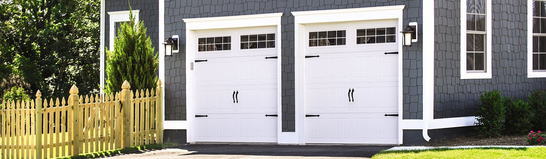 9100 Steel Garage Door Sonoma White Stocktoniii Wayne Dalton Garage Doors Garage Doors Garage Door Decor