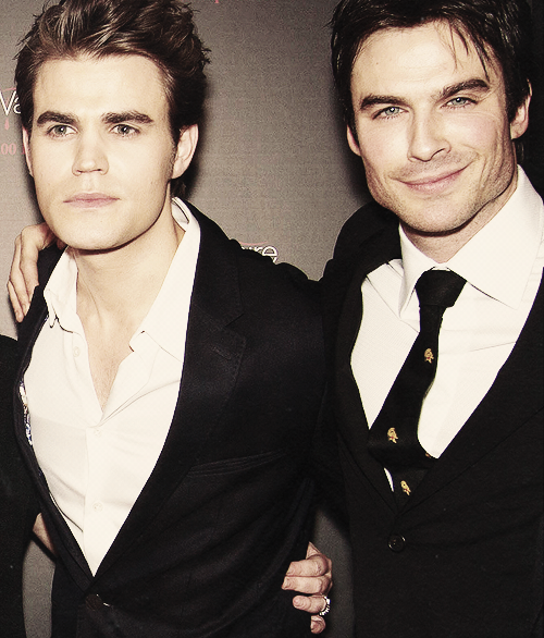 Ian Somerhalder & Paul Wesley looking damn hot again! ♥