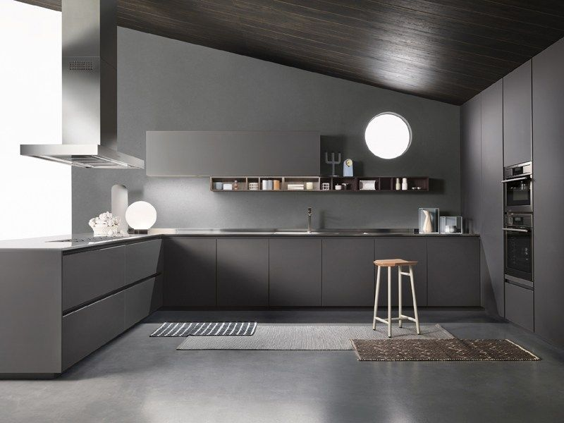 Cucina ONE by ERNESTOMEDA | Home | Pinterest | Cuisine noir ...