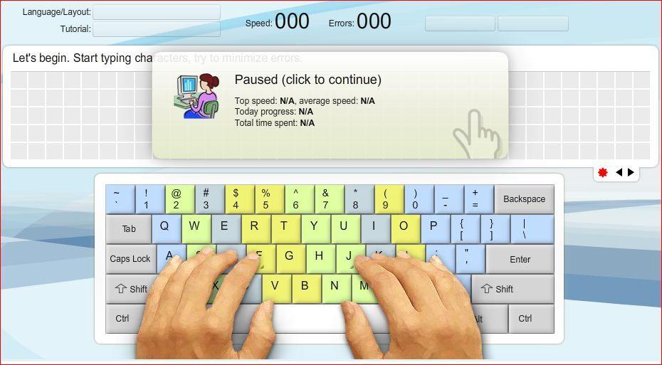 தமிழில் கணணி தகவல்கள் Practice Touch Typing Online