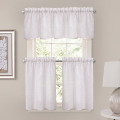 Bed Bath Beyond Crystal Brook 52 Inch X 24 Inch Window Curtain