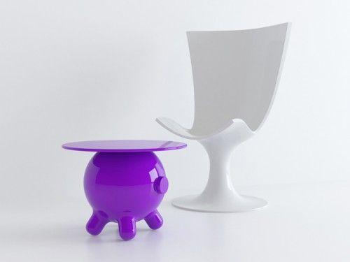 Elegant Joel Escalona Pogo Table With Cute Fun Form For Kids Work Amazing Design