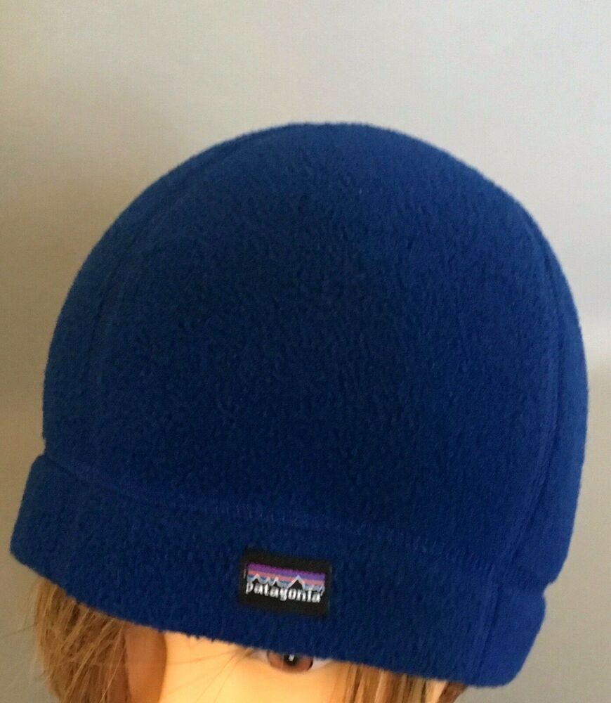ee2c73602eb PATAGONIA Kids Hat Beanie Blue Girls Boys size Medium 6 - 14 yrs Made in  USA c80  Patagonia  Beanie
