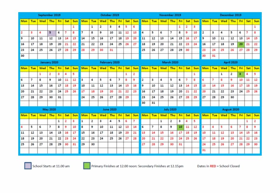 Mayan Calendar 2020 Predictions Printable Template Free