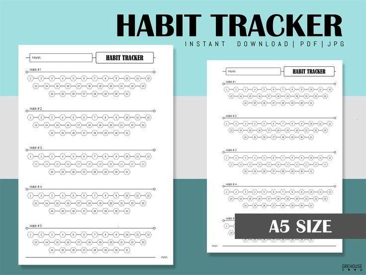#fitnessplanner #minimalist #printable #wellness #planner #inserts #fitness #tracker #refill #diary...