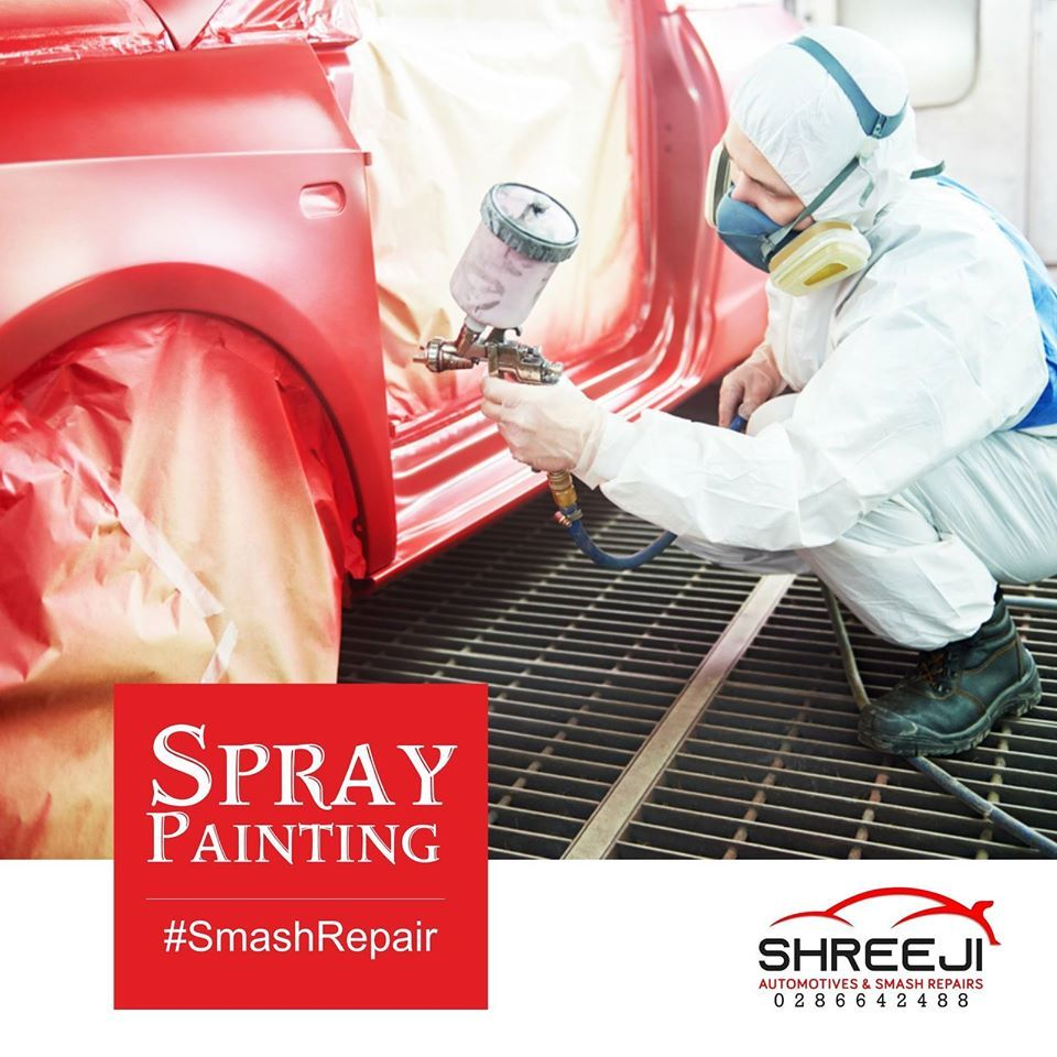 High Quality Spray Painting Repair, Transmission service